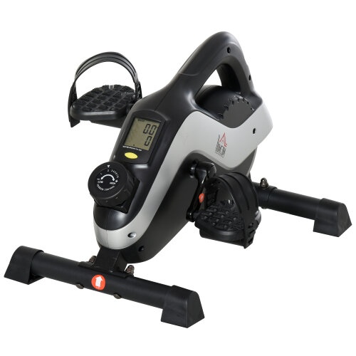 HOMCOM Mini Exercise Bike with 8 Levels Magnetic Resistance