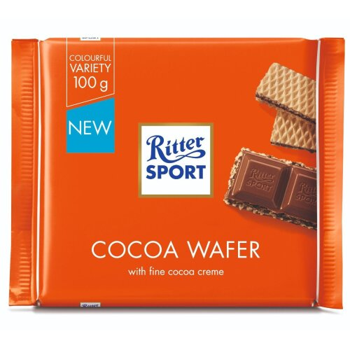 Ritter Sport Cocoa Wafer 100g x12