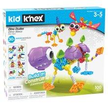 Kid K'NEX Dino Dudes Building Set