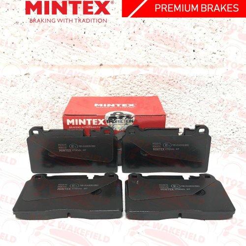 FOR AUDI A6 C7 S6 FRONT PREMIUM MDB3133 MINTEX BRAKE PADS SET