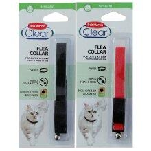 Bob Martin Clear Velvet Flea & Tick Collar (Twin Pack)