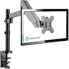"""ONKRON Monitor Desk Mount for 13"""" to 32-Inch up to 8 kg G70 Black"""