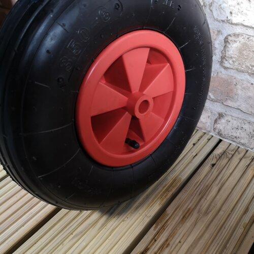 "Replacement 13"" x 3"" Pneumatic Garden Wheelbarrow Wheel"