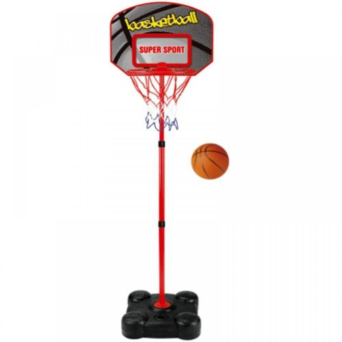 Free Standing Adjustable Basketball Net With Backboard & Ball
