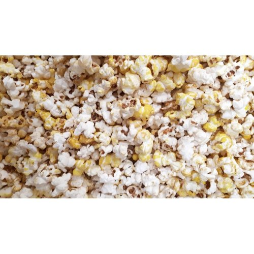 Popcorn sweet yellow colour with a hint of banana flavour 300g Halal