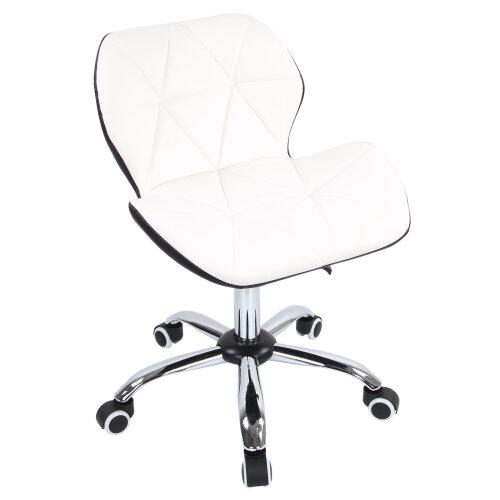 (BLACK&WHITE) Computer Desk Office Chair