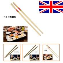 Wooden Bamboo Reusable Chopstick Chinese Stir Fry Party Japanese Chop Hair Stick
