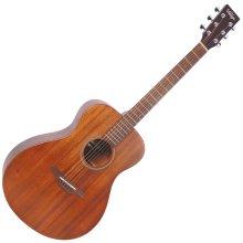 Vintage V300 Folk Guitar, Mahogany