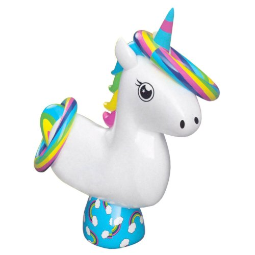 Inflatable Unicorn Ring Toss Quoits Beach & Garden Throwing Family Game