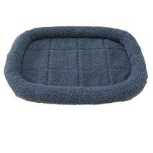 HugglePets Sheepskin Washable Pet Bed | Cat & Dog Bed, Size X-Large