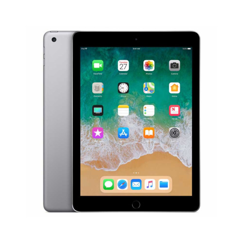 "Apple iPad 9.7"" 5th Generation 128GB (2017) WiFi Space Grey"