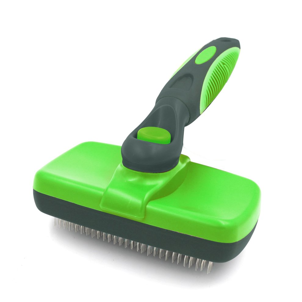 Vaxuia Self Cleaning Slicker Brush-Pet Dog & Cat Grooming