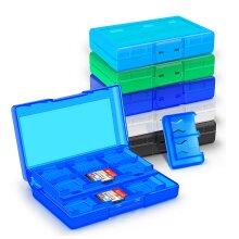 Nintendo Switch Game Card Holder Cartridge Storage Organizer Case 24 In 1