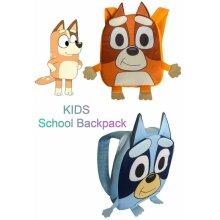 New Bluey Bingo Backpack for Kids School Backpack Mini Travel Bag Gift Showbag