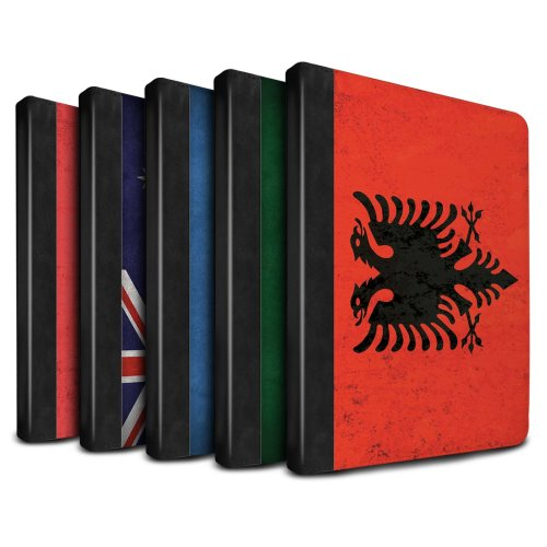 Flags Apple iPad Air 2 Tablet Case Flip Faux Book PU Leather Cover for Apple iPad Air 2