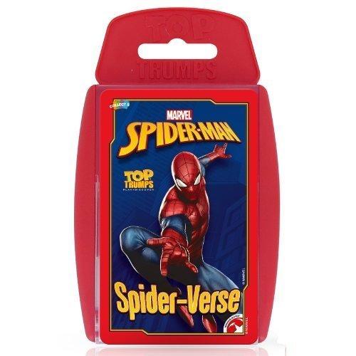 Spiderman Top Trumps Card Game