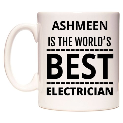 ASHMEEN Is The World's BEST Electrician Mug