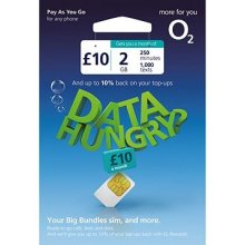 O2 Pay As You Go £10/month