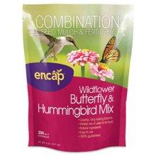 Encap 10810-6 200 sq. ft. Butterfly & Hummingbird Flower Mulch Seed