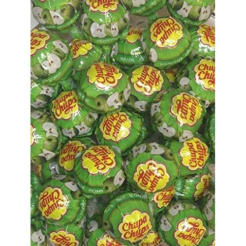 Apple x 50 Chupa Chups Lollypops, Ideal Party Bag Filler