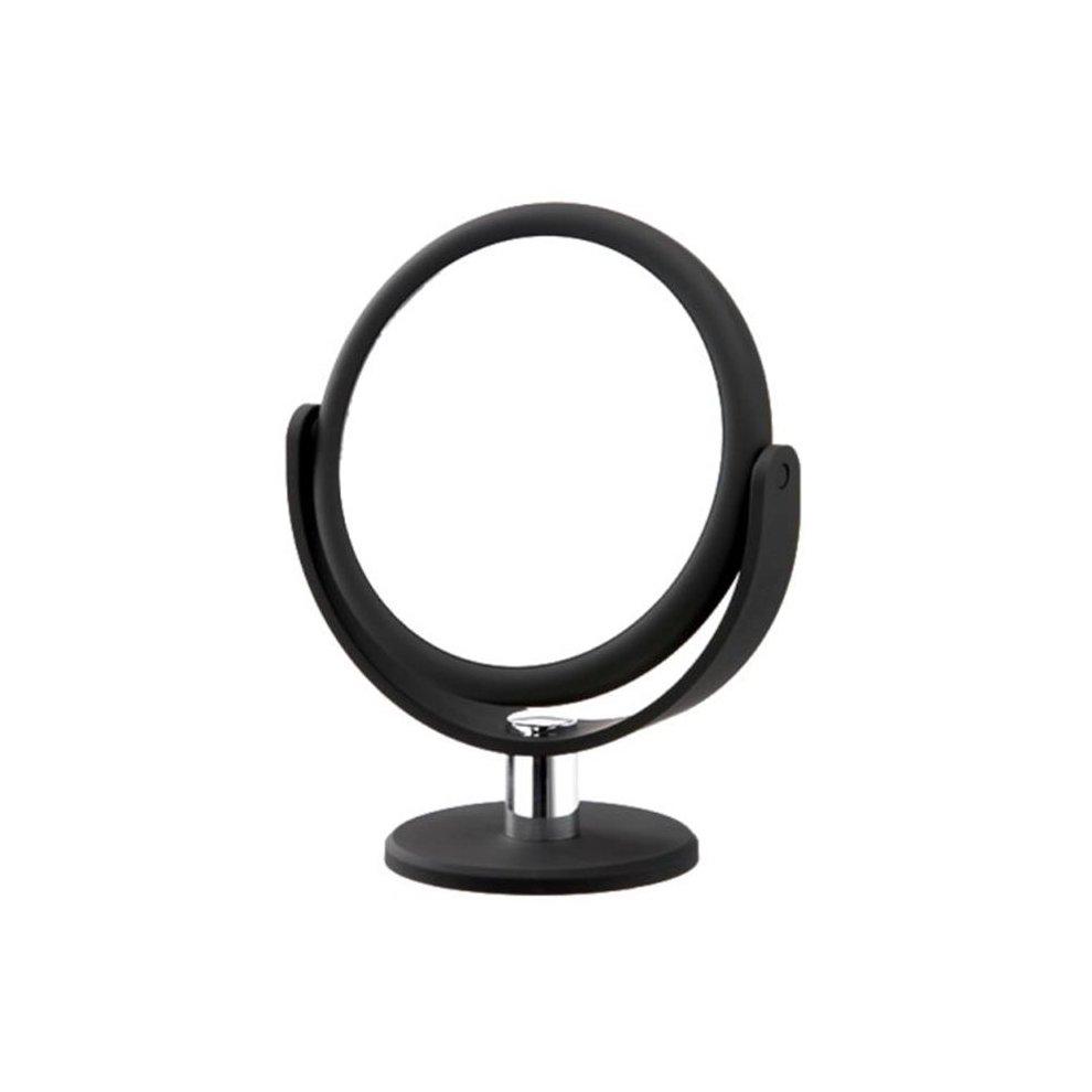 Danielle Creations D168 Soft Touch Round Vanity Mirror Midnight Matte On Onbuy