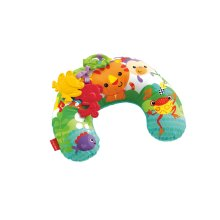 Fisher-Price CDR52 Comfort Vibe Play Wedge, Rainforest