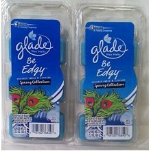 12 Glade Wax Melts Spring Be Edgy Coconut Water & Freesia 2 Packs of 6 12 Tarts