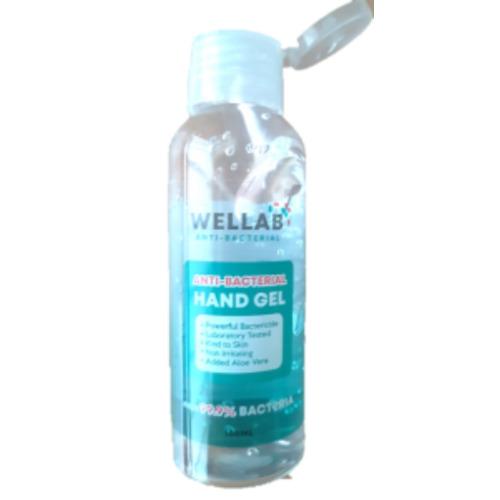 Wellab anti-bac hand gel 100ml