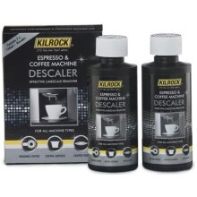 Kilrock Espresso & Coffee Machine Descaler, 2 x 150ml Bottles