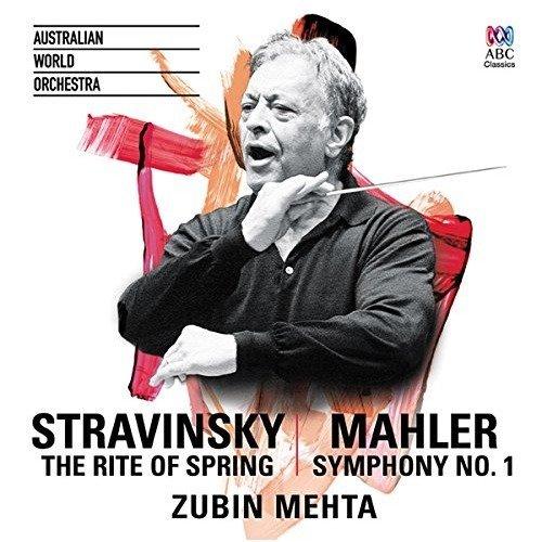 Zubin Mehta - Stravinsky: the Rite of Spring / Mahler: Symphony No. 1 [CD]