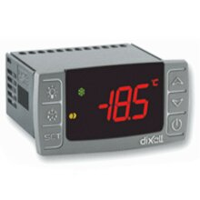 Dixell XR20CX-5N1C1 230V/50-60Hz Digital Thermostat Controller Off Cycle Compressor Defrost Programmable-Commercial for Refrigeration