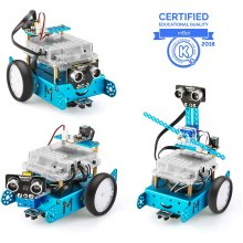 Makeblock mBot Add-on Pack Servo Pack, Robot 3-in-1 Add-on Pack, 3 Forms (mBot Excluded)