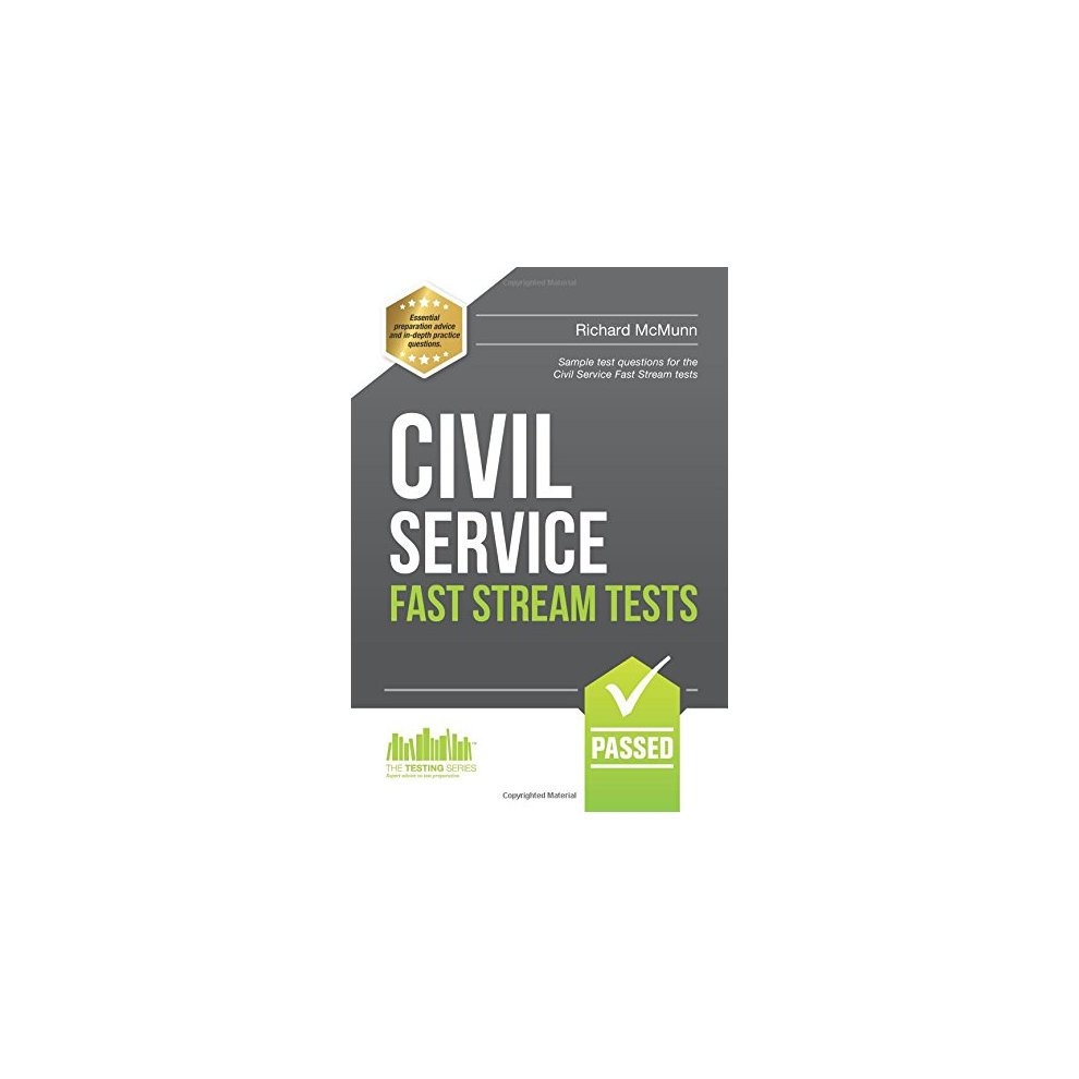 Civil Service Fast Stream Tests Sample Test Questions For The Fast Stream Civil Service Tests 1 Testing Series Book On Onbuy