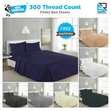300TC Deep Fitted Sheet Bed Sheet