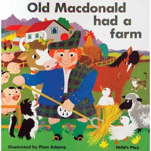 Old Macdonald had a Farm (Classic Books with Holes Soft Cover)