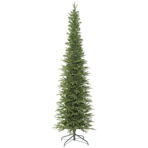 Vickerman K167355 5.5 ft. x 25 in. Bixley Pencil Fir Tree with Unlit 1151 Tips Mini Light