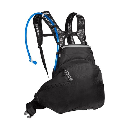 CAMELBAK WOMEN'S SOLSTICE LR 10 LOW RIDER HYDRATION PACK (REDESIGN) 2020: BLACK/SILVER 3L/100OZ