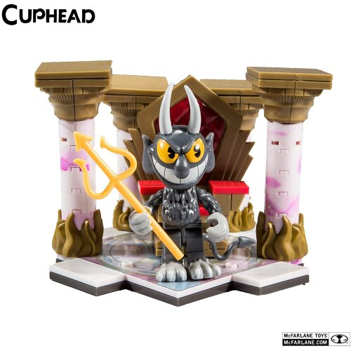 Cuphead McFarlane Toys Devil's Throne Small Construction Set