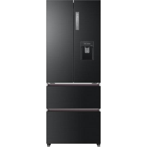 Haier HB16WSNAA American Fridge Freezer - Black / Stainless Steel