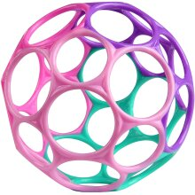 Oball Classic Easy-Grasp Toy - Pink/Purple