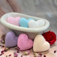 Bath Bomb Love Heart 70g