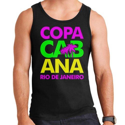 Copacabana Neon Lettering Men's Vest