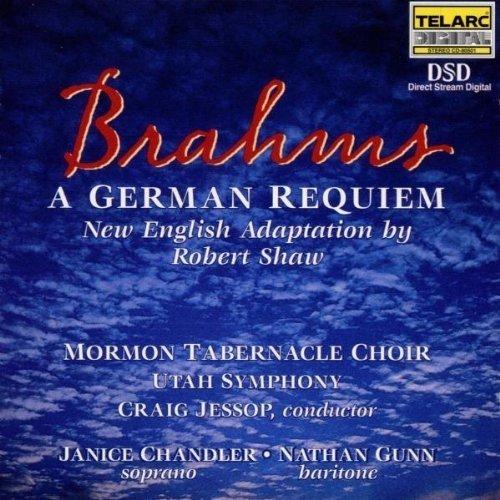 Mormon Tabernacle Choir - Brahms: Requiem [CD]