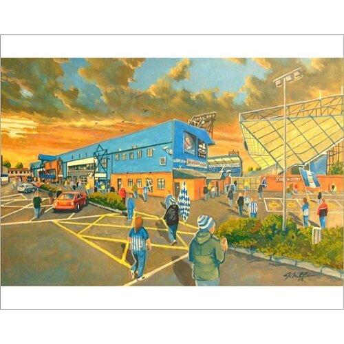 Rugby Park Stadium Fine Art - Kilmarnock Football Club (Photographic Print)