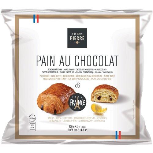 Le Fournil De Pierre Frozen Pain au Chocolat - 1x6