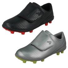 Boys Clarks Football Boots Kinetic Run - G Fit