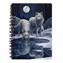 Warriors Of Winter 3D Effect Lisa Parker Notebook