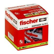 FISCHER DUOPOWER S Wall Plugs + Screws