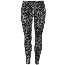 Golddigga Womens Lux Leggings Ladies Tights Bottoms Pants Slim Fit Skinny