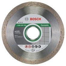 Bosch Professional 2608602201 Standard for Ceramic Diamond Cutting disc, Silver/Grey, 115 mm